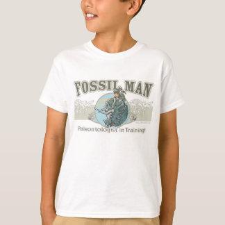 Paléontologue fossile d'homme t-shirt