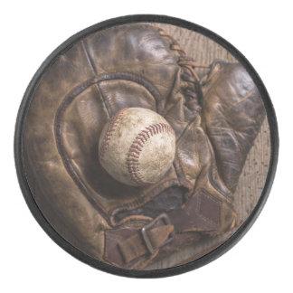 Palet De Hockey Équipement de base-ball vintage