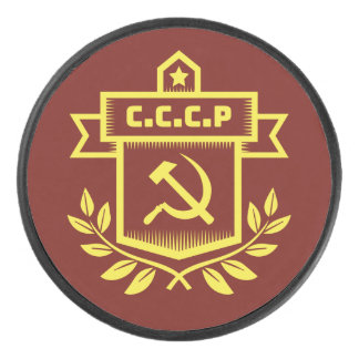 Palet De Hockey Galet d'hockey d'emblème de CCCP