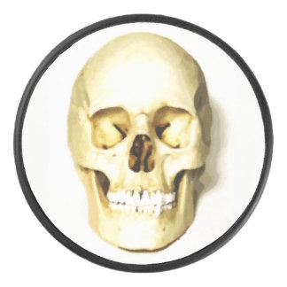 Palet De Hockey Galet d'hockey dur de crâne humain
