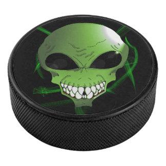 Palet De Hockey Galet d'hockey étranger vert
