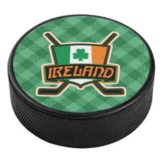Palet De Hockey Galet irlandais d'équipe de hockey de glace de