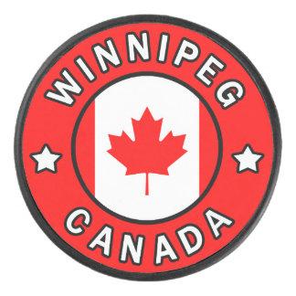 Palet De Hockey Winnipeg Canada