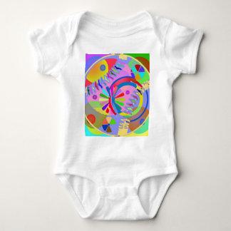 Palette abstraite de couleurs t-shirts
