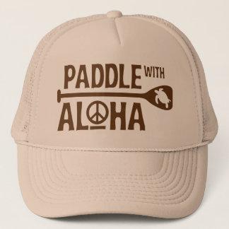 Palette avec Aloha le casquette de camionneur