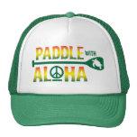 Palette avec Aloha le chapeau de camionneur de reg Casquette De Camionneur