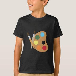 Palette d'art t-shirts