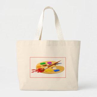 Palette d'artiste grand sac