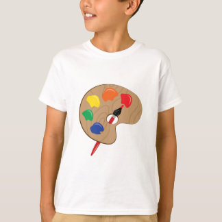 Palette d'artiste t-shirts