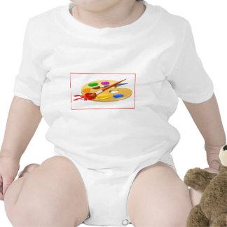 Palette d'artiste body pour bébé