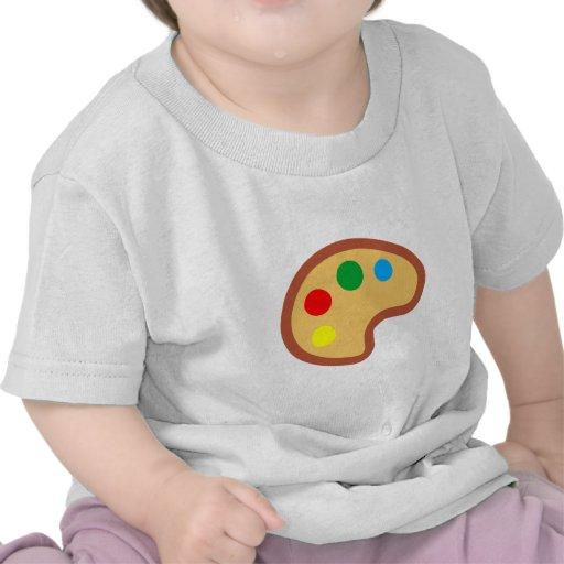 Palette de couleurs palette stillage t-shirts
