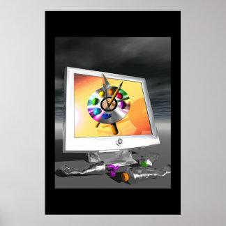 Palette de Digitals Posters
