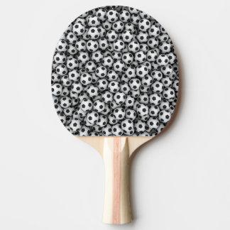 Palette de ping-pong de ballons de football raquette de ping pong