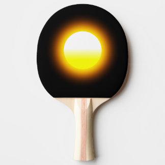 Palette de ping-pong d'image d'éclat de Sun Raquette Tennis De Table