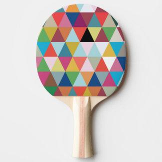Palette de ping-pong modelée par kaléidoscope raquette tennis de table