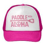 Palette de Wahine avec Aloha le casquette rose de