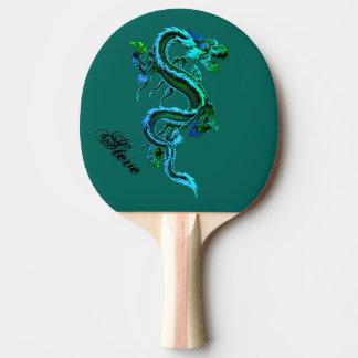 Palette faite sur commande de ping-pong de dragon raquette tennis de table