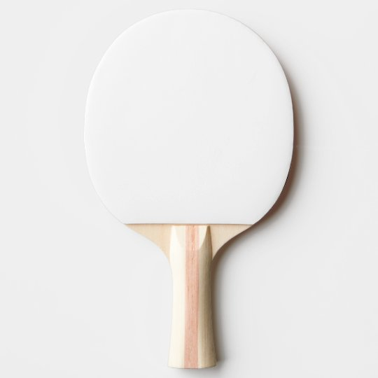 Raquette de Ping Pong, Caoutchouc rouge Back