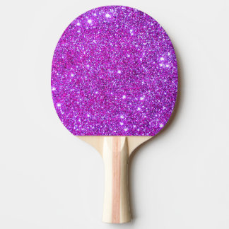 Palette Girly 4 de ping-pong de scintillement Raquette Tennis De Table