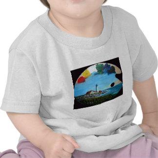 Palette légère principale de Portland T-shirt