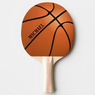 Palette personnalisée de ping-pong de basket-ball raquette de ping pong