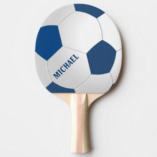 Palette personnalisée de ping-pong du football du raquette tennis de table