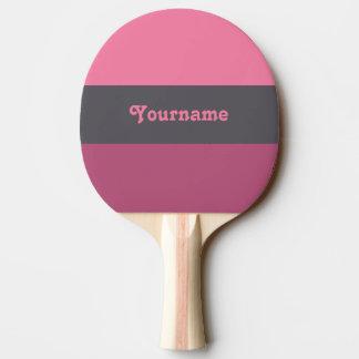 Palette tricolore faite sur commande de ping-pong raquette tennis de table
