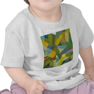 Palette verte t-shirts