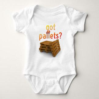 Palettes obtenues ? t-shirts