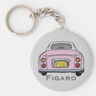 Pâlissez - le porte-clés rose de coutume de Nissan