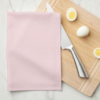 Pâlissez - le rose ajoutent votre couleur nommée linge de cuisine