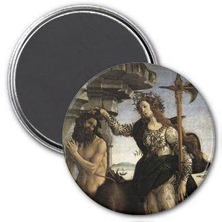 Pallas et le centaure magnet rond 7,50 cm
