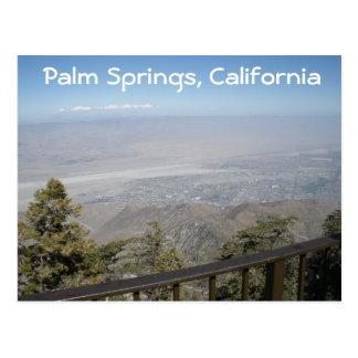 Palm Springs, carte postale de la Californie