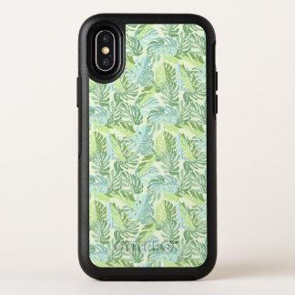 Palmettes tropicales en pastel de photo faite sur