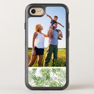 Palmettes vertes de photo coque otterbox symmetry pour iPhone 7