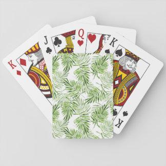 Palmettes vertes jeu de cartes