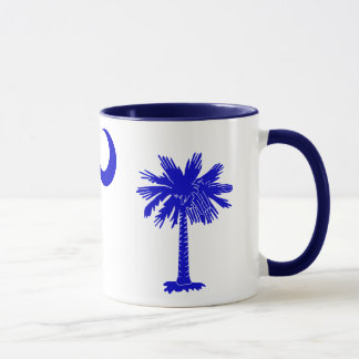 Palmetto de la Caroline du Sud et tasse de