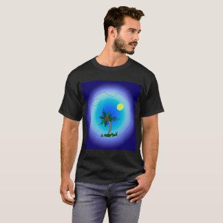 Palmier en mer t-shirt