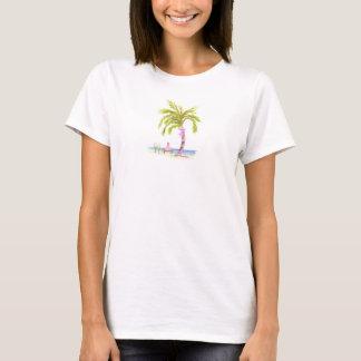 palmier épousant t t-shirt