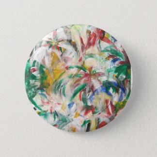 Palmier pour aquarelle floral tropical abstrait pin's