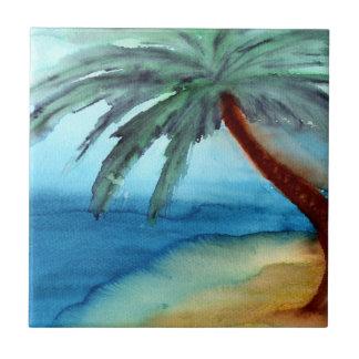Palmier rêveur petit carreau carré