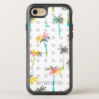 Palmiers d'aquarelle coque otterbox symmetry pour iPhone 7
