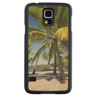 Palmiers, parc historique national Pu'uhonua o Coque Galaxy S5 En Érable
