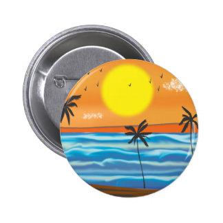 Palmiers, paysage naturel badges