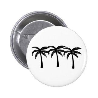 Palmiers tropicaux badge