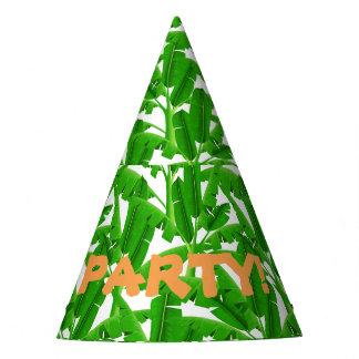 Palmiers tropicaux verts chapeaux de fètes