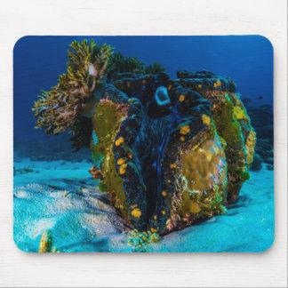 Palourde géante sur la Grande barrière de corail Tapis De Souris