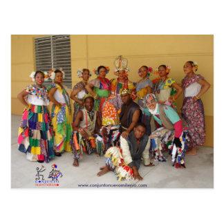Panamanian Congos de CNM Carte Postale