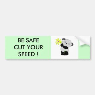panda autocollant de voiture