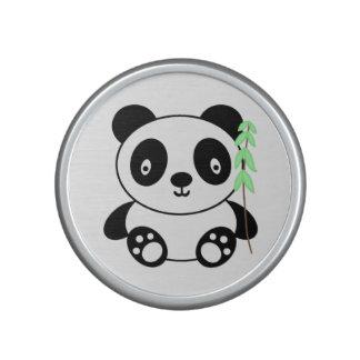 Panda avec le bambou haut-parleur bluetooth